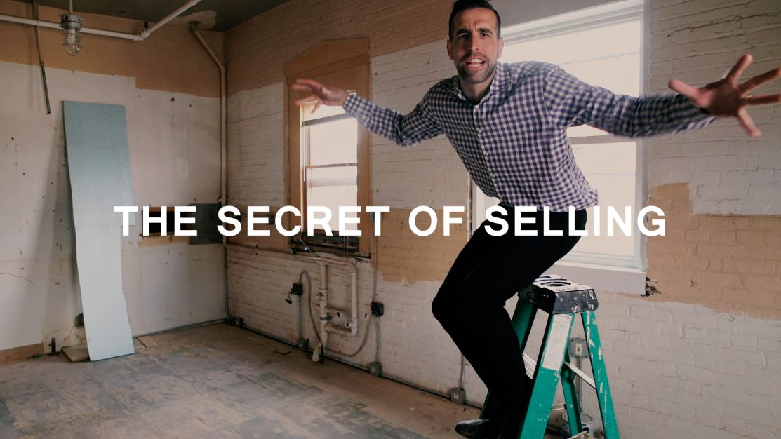 the secret of selling
