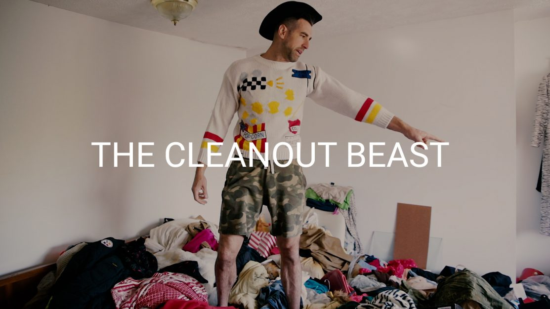 how to clean a hoarder house